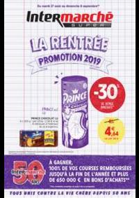 Promos et remises Intermarché Super Boissise la Bertrand : LA RENTREE PROMOTION 2019