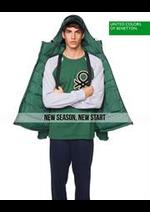 Catalogues et collections Benetton : New Season, New Start  Men