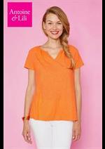 Prospectus Antoine et Lili : T-Shirt Femme