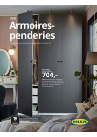 Prospectus IKEA HOGNOUL : Garde robes 2020