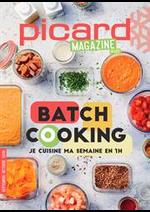 Prospectus Picard : Batch Cooking