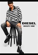 Prospectus Diesel : Nouveautés / Homme