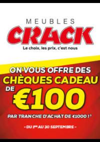 Bons Plans Meubles Crack : Chèques Cadeau de 100€