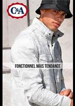 Catalogues et collections C&A : Fonctionnel mais Tendance