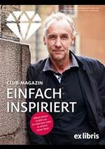 Promos et remises  : Ex Libris Club-Magazin September/Oktober 2019