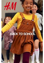 Catalogues et collections H&M : Back to school