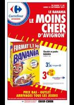 Prospectus Carrefour : Le banania le moins cher d'Avignon