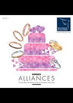 Prospectus Nouveaux Bijoutiers : Alliances 2019 Mariage