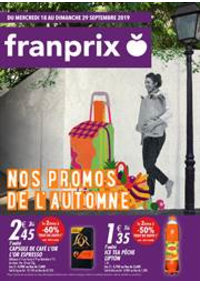 Prospectus Franprix THIAIS : Nos promos de l'automne