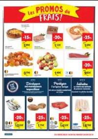 Promos et remises Carrefour Market TAMINES : folder Carrefour Market