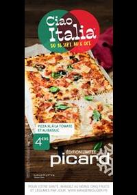 Prospectus Picard VAUCRESSON : Ciao Italia