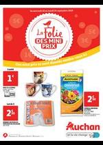 Prospectus Auchan drive : La folie des mini prix