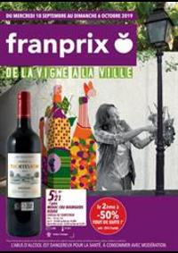 Prospectus Franprix CHOISY LE ROI 9 rue Louise Michel : De la vigne a la ville