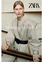 Catalogues et collections ZARA : Monday to friday