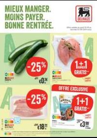 Promos et remises Supermarché Delhaize Bouge : Nouveau: Promotion de la semaine