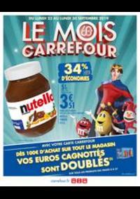 Prospectus Carrefour : LE MOIS CARREFOUR !