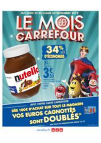 Prospectus Carrefour CHAMBOURCY : LE MOIS CARREFOUR !