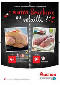 Prospectus Auchan Le Kremlin-Bicêtre : Tract boucherie