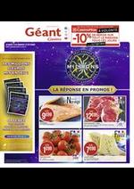 Prospectus Géant Casino : La réponse en promos !