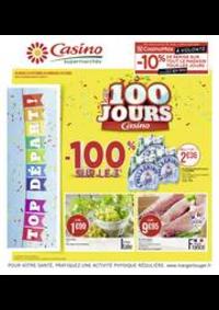 Prospectus Supermarchés Casino ASNIERES ZAC du métro - Ilot F : Les 100 jours Casino