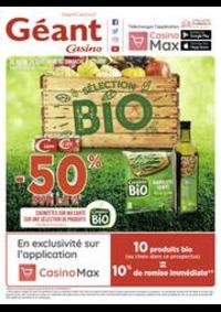 Prospectus Géant Casino SAINT DOULCHARD : Sélection Bio