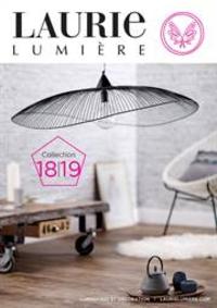 Prospectus Laurie lumière PARIS : Catalogue Laurie Lumière
