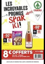 Prospectus Spar : Les incroyables promos Spar ici!