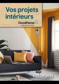 Prospectus Castorama PARIS 20 : Vos projets intérieurs