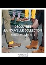 Prospectus André : Nouveautés Collection