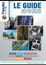 Guides et conseils  : LE GUIDE 20192020
