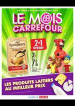 Prospectus Carrefour : LE MOIS CARREFOUR, LES PRODUITS LAITIERS