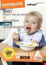 Prospectus Colruyt : Baby proeft van de herfst