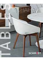 Prospectus Cuisines Schmidt : Tables and Chairs