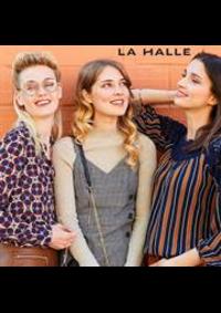 Prospectus La Halle SAVIGNY-LE-TEMPLE 16 IMPASSE DE L'ORÉE DU BOIS : Nouveautés Mode