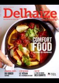 Journaux et magazines Supermarché Delhaize Bouge : Delhaize Magazine:
