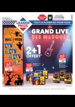 Promos et remises Leader Price : Le grand live des marques