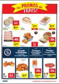 Promos et remises Carrefour Market MESTDAGH - NANINNE : folder Carrefour Market