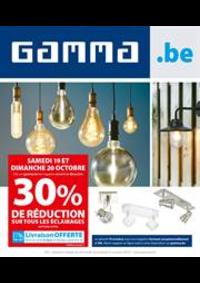 Prospectus GAMMA JUMET : Gamma Actions