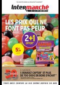 Prospectus Intermarché Super Nanterre : LES PRIX QUI NE FONT PAS PEUR.