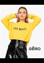 Prospectus Gemo : Collection Pulls / Femme