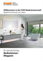 Prospectus Fust : Badezimmermagazin - Riesenauswahl