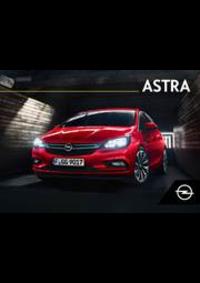 Prospectus Opel Barvaux-Durbuy : Astra Depliant