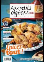 Promos et remises  : Magazine Aux petits oignons Novembre