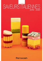Promos et remises  : Carte des saveurs italiennes 2019-2020
