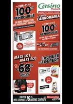 Prospectus Géant Casino : Maxi lot, Maxi éco