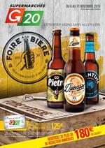 Prospectus G20 : Foire à la Bière
