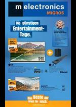 Prospectus Melectronics : Die günstigen Entertainment- Tage.