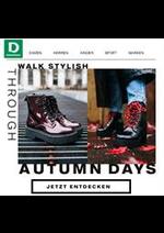 Prospectus Dosenbach : Autumn Days