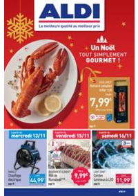 Prospectus Aldi Chaumont : Un Noël tout simplement gourmet!