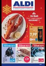 Prospectus Aldi : Un Noël tout simplement gourmet!